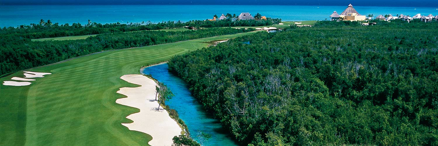 Mayakoba Golf Classic Tournament Info The Course Course Map